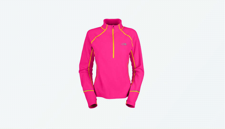 THE NORTH FACE TKA 80 HYBRID 1/2 ZIP WOMENS PULLOVER