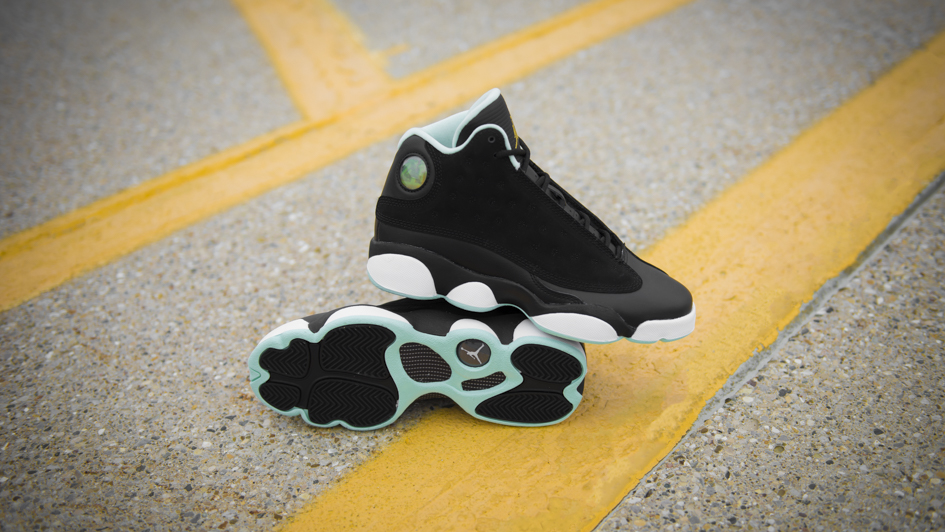 official photos 2cf97 ac17e Girls Air Jordan Retro 13  Mint Foam